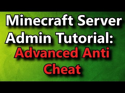 Minecraft Admin How-To: Advanced Anti Cheat [PREMIUM]