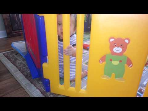 Baby Kids Safety Playpen 8 Panel Play Center escape