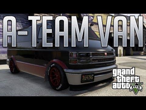 A-Team Van (Bravado Youga) : GTA V Custom Car Build - YouTube