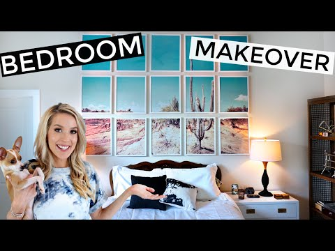 COMPLETE BEDROOM MAKEOVER | Before, After & Everything Between