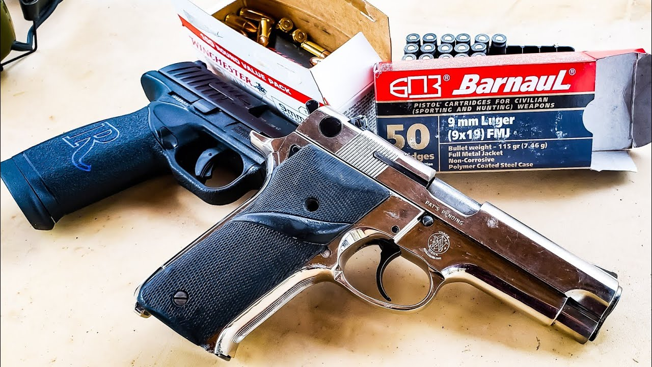 S&W Model 59 vs Remington RP9