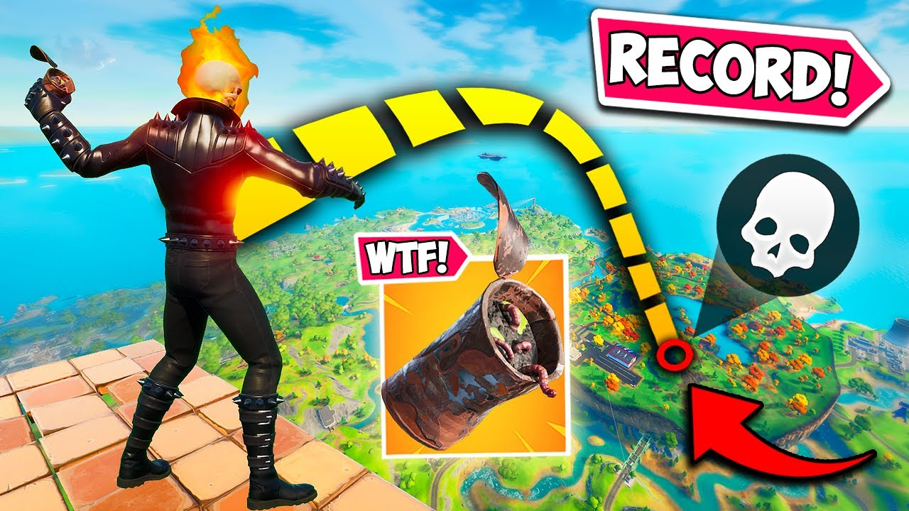 *WORLD RECORD* LONGEST RUSTY CAN KILL! - Fortnite Funny Fails and WTF Moments! #1090