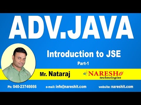 Advanced Java Tutorial Videos | Mr. Nataraj