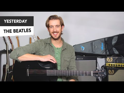 The Beatles – YESTERDAY EASY Guitar Lesson Tutorial // Paul McCartney – how to play