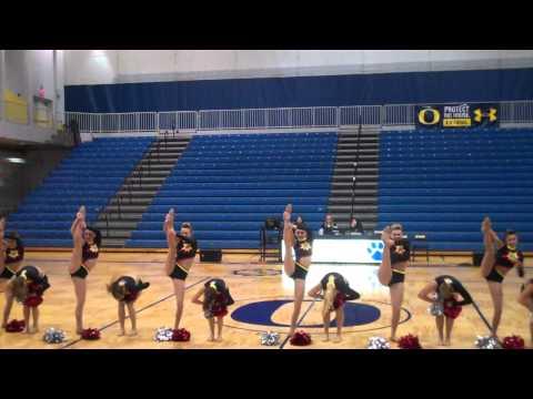 Highland High School Pom Dance 2012