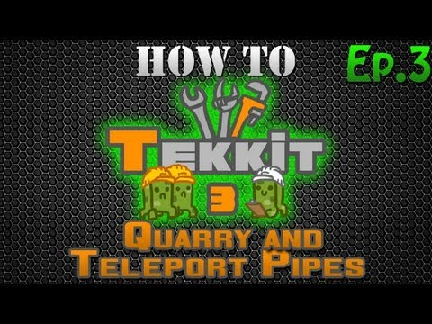 how to use a builder in a quarry tekkit classic