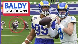 Breaking Down the Rams Super Star Performance vs. the Buccaneers | Baldy Breakdowns