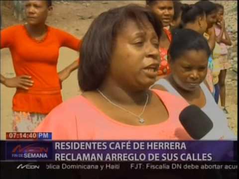 Residentes En El Café De Herrera Reclaman Arreglo De Sus