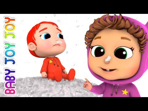 Five Little Babies Jumping on the Bed | Baby Songs | Educational