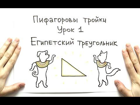 GetAClass - Пифагоровы тройки 1. Египетский треугольник