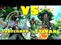 Real Life Yugioh - SUBTERROR vs SYLVAN | December 2017 Scrub League