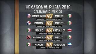Hexagonal Final   El camino de la Selección Mexicana