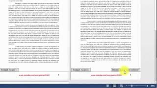 ▶Cabeçalhos, rodapés e números de páginas diferentes no mesmo arquivo do Word!!!