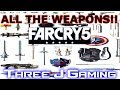 Far Cry 5: Weapons we know about so far.