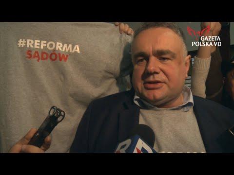 Tomasz Sakiewicz - komentarz po wygranym procesie