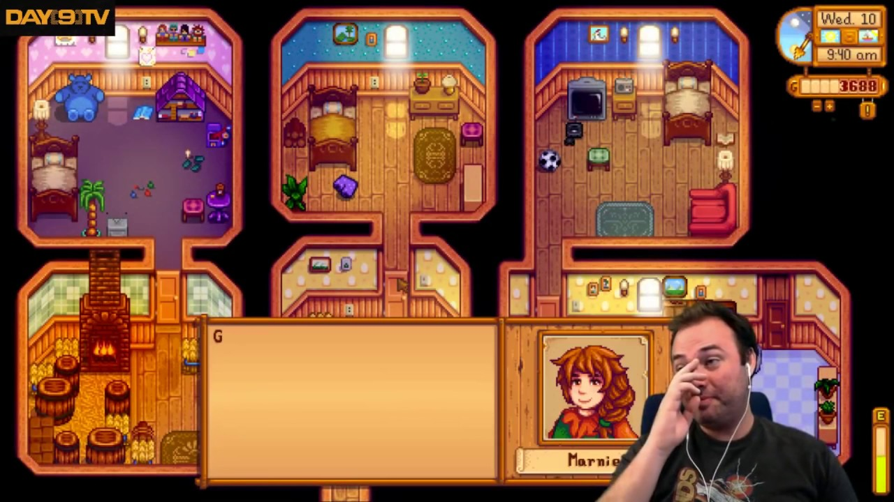 Day9tv Play S Stardew Valley Twitchchat Gives Animals