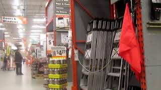 Ceiling fans at Home Depot (2015)