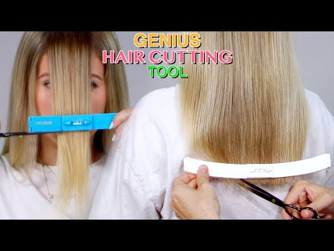 GENIUS HAIR CUTTING TOOL!