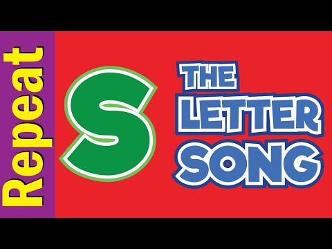 The Letter s Song - Listen & Repeat   Phonics Song   ESL for Kids   Fun Kids English