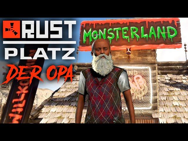 RUSTplatz [S2] #37 👴🏻 Monsterland Eröffnung 💥 Roleplay Projekt [Deutsch]