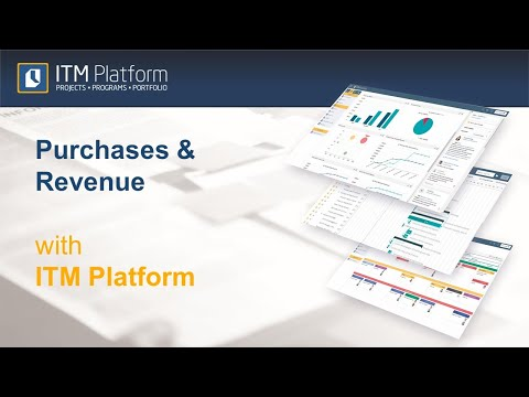 Purchases and Revenue with ITM Platform
