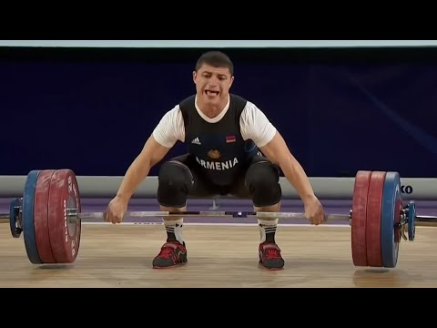 2016 Olympic Weightlifting , Men 77 kg - European Championships \ Тяжелая Атлетика