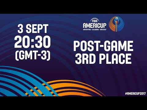#JornadaAmeriCup - Post 3er Puesto - FIBA AmeriCup 2017
