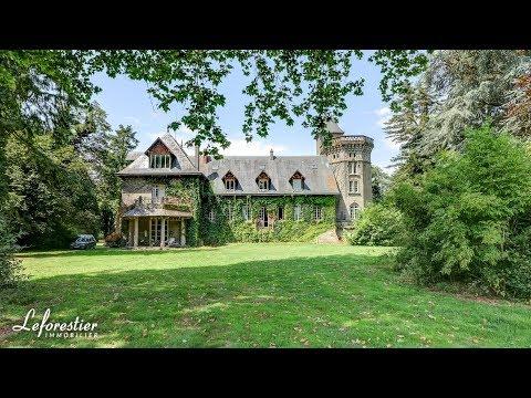 Château De Normandie à Vendre Avec Nombreuses Dépendances Forges Les Eaux