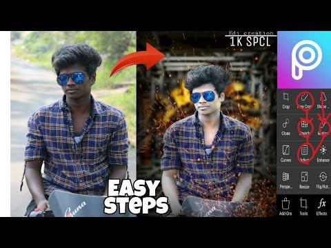 PicsArt tutorial    Editing easy steps