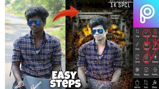 PicsArt tutorial || Editing easy steps