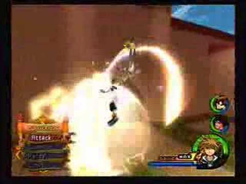 Kingdom Hearts 2 Low Level: Volcanic Lord & Blizzard Lord