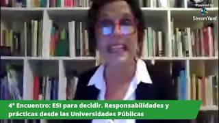Cuarto encuentro de la Cátedra Libre Virtual por el Derecho al Aborto Legal ESI para decidir