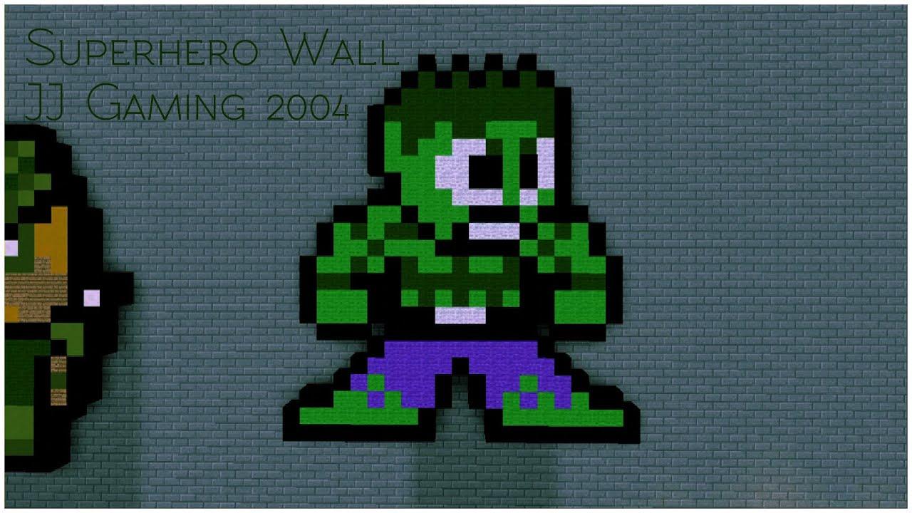 hulk pixel art for - photo #18