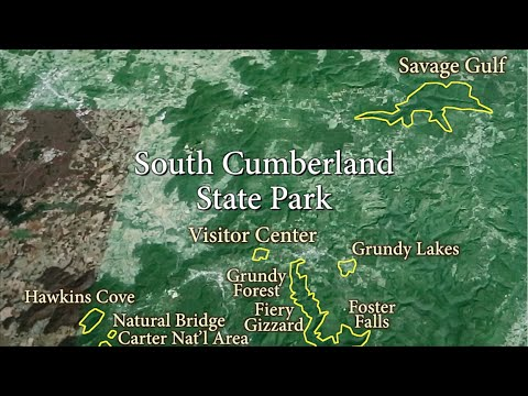 South berland State Park | Trails Orientation on tennessee state parks map, savage gulf hiking trails map, alabama gulf shores state park map, gulf state park backcountry trail map, gulf state park camping map, rock island state park map,