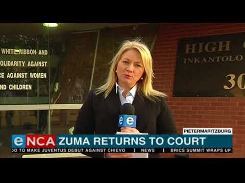 #ZumaInCourt - Zuma's new legal team