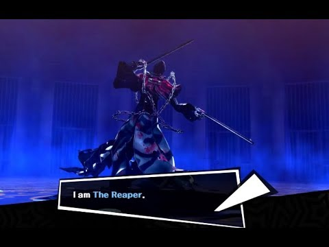 Persona 5 - The Reaper As Your Persona!? Fusible Holy Grail Mod