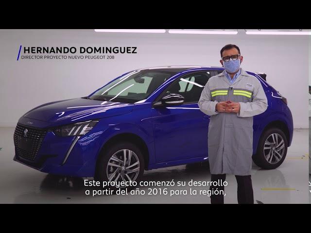 Nuevo Peugeot 208 - Lanzamiento Industrial en Argentina