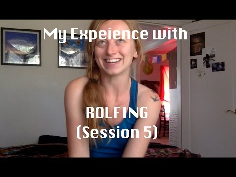 My Experience with Rolfing: Session 5 (Lower Deep Front Line)