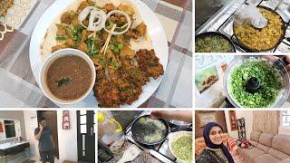 Travelog 5 - Hubby ko UAE aur humein Pakistan jana chahiye - Smoked Tawa Chicken Platter Recipe