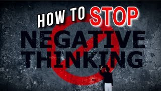 How to STOP Your Negative Thinking - 2 SIMPLE Tools to RID Yourself of Negative Thoughts!
