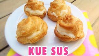 Gambar cover RESEP CARA MEMBUAT KUE SUS LEMBUT DAN KOKOH + VLA SUSU ( Choux pastry)