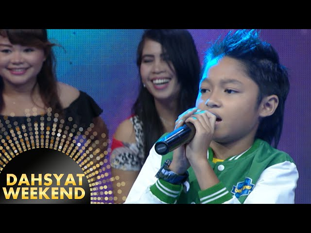 Kiesha Alvaro Nyanyi Seperti Bintang Ciptaan Pasha Ungu [Dahsyat] [27 Mar 2016]