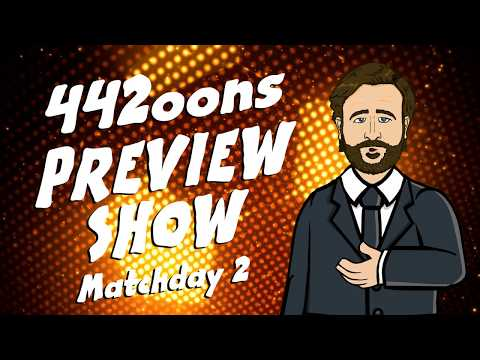 ⚽442oons PREVIEW SHOW! #2⚽(Tottenham Chelsea, Barcelona Betis, Klopp Coutinho interview and more!)