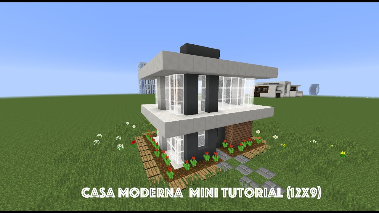 Casa moderna mini tutorial 12x9 youtube for Casa moderna lecheria