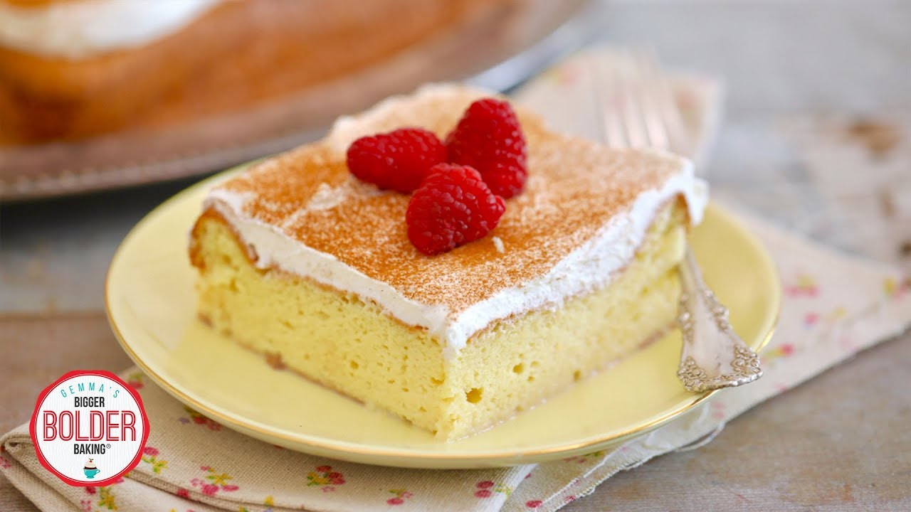 Easy Tres Leches Cake | Bigger Bolder Baking - YouTube