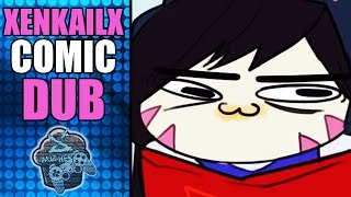 WTF IS ON GREMLIN D.VA FACE AND SOLDIER 76 CALL MERCY UGLY  - Overwatch | XenkailX Comic Dub EP 13