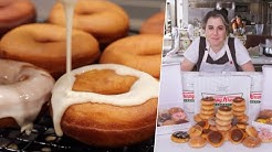 I TESTED Claire's Gourmet & Joshua Weissman's Krispy Kreme Donuts - Viral Recipes Tested