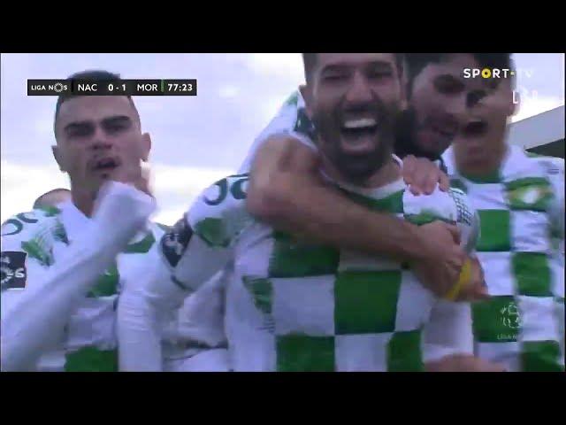 Goal | Golo Steven Vitória: CD Nacional 0-(1) Moreirense (Liga 20/21 #14)