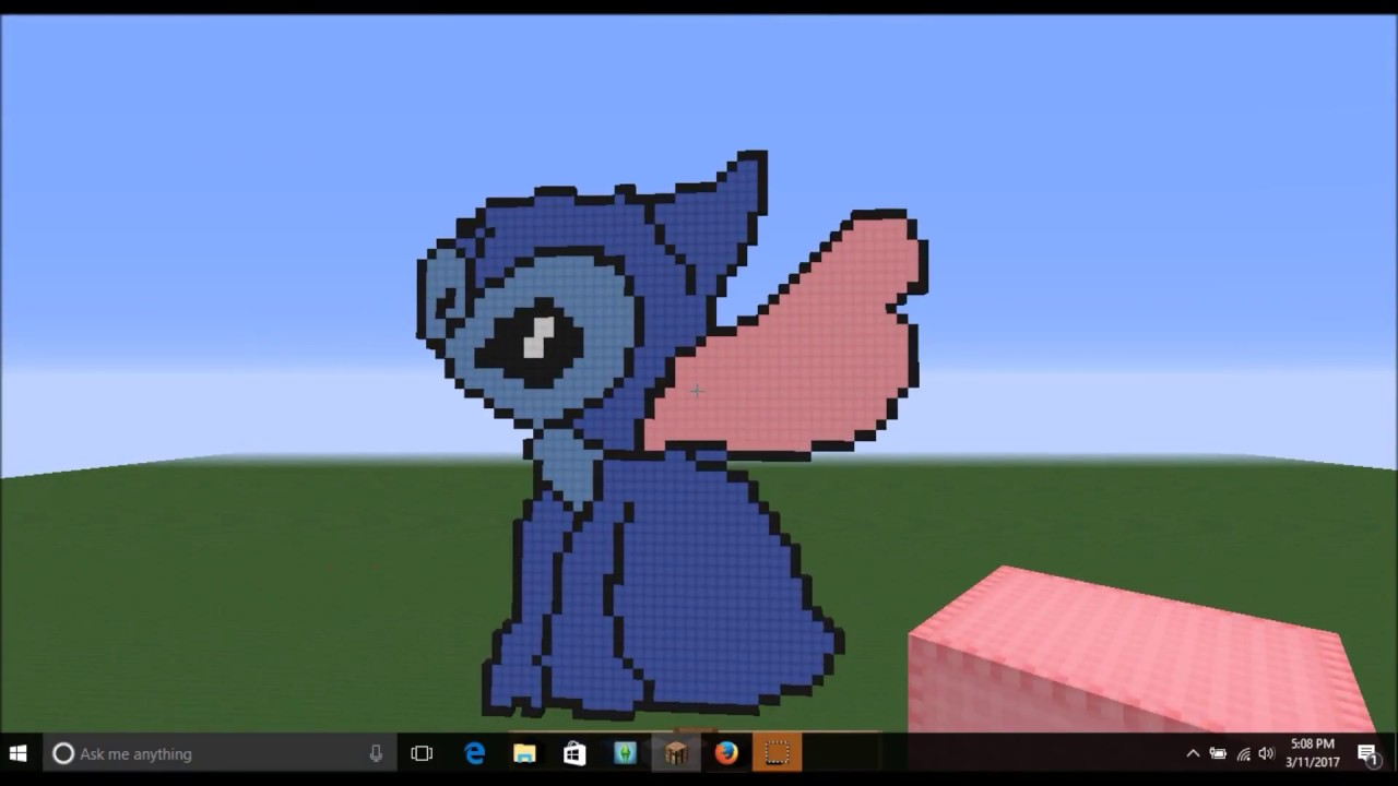 Lilo and stitch pictures the house minecraft