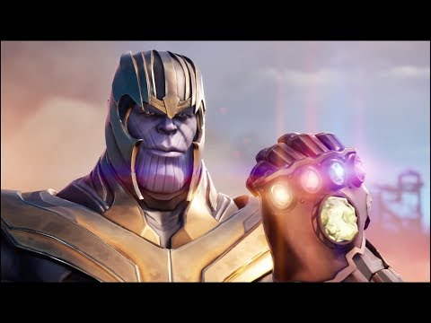 Thanos Snaps His Fingers With All Six Infinity Stones